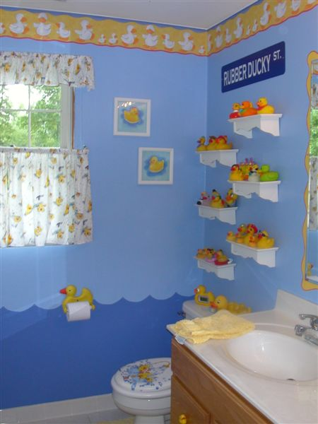 Rubber Ducky Bathroom Decor Shower Remodel Party